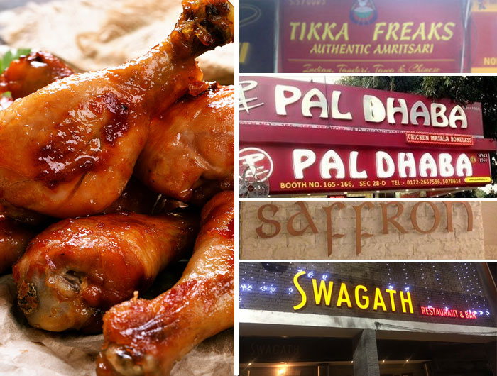 Five Best Places In Chandigarh To Have Tandoori Chicken Chandigarhx